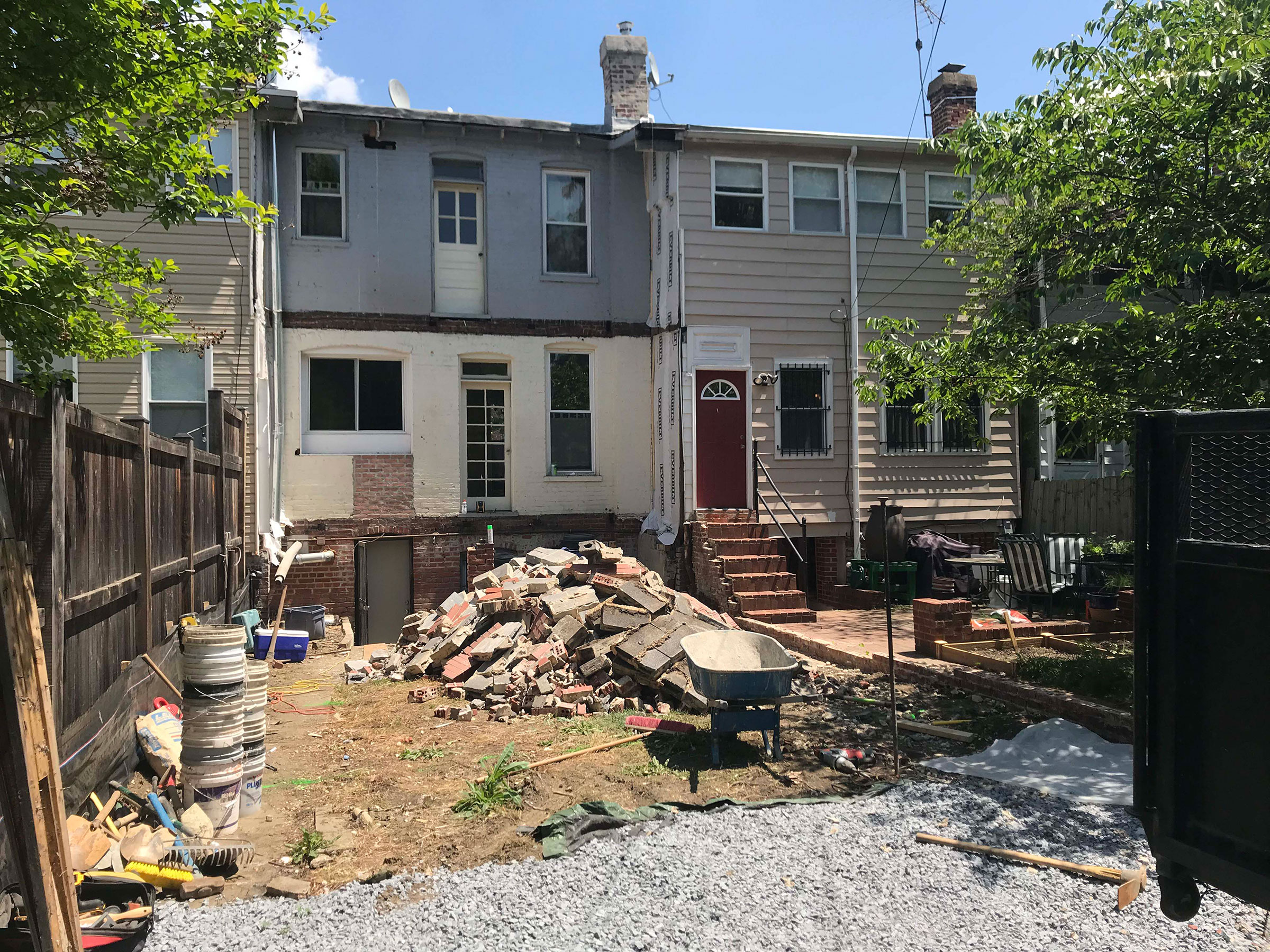 6-Rear-before-minus-demo-porch-and-brick-fence-Opt