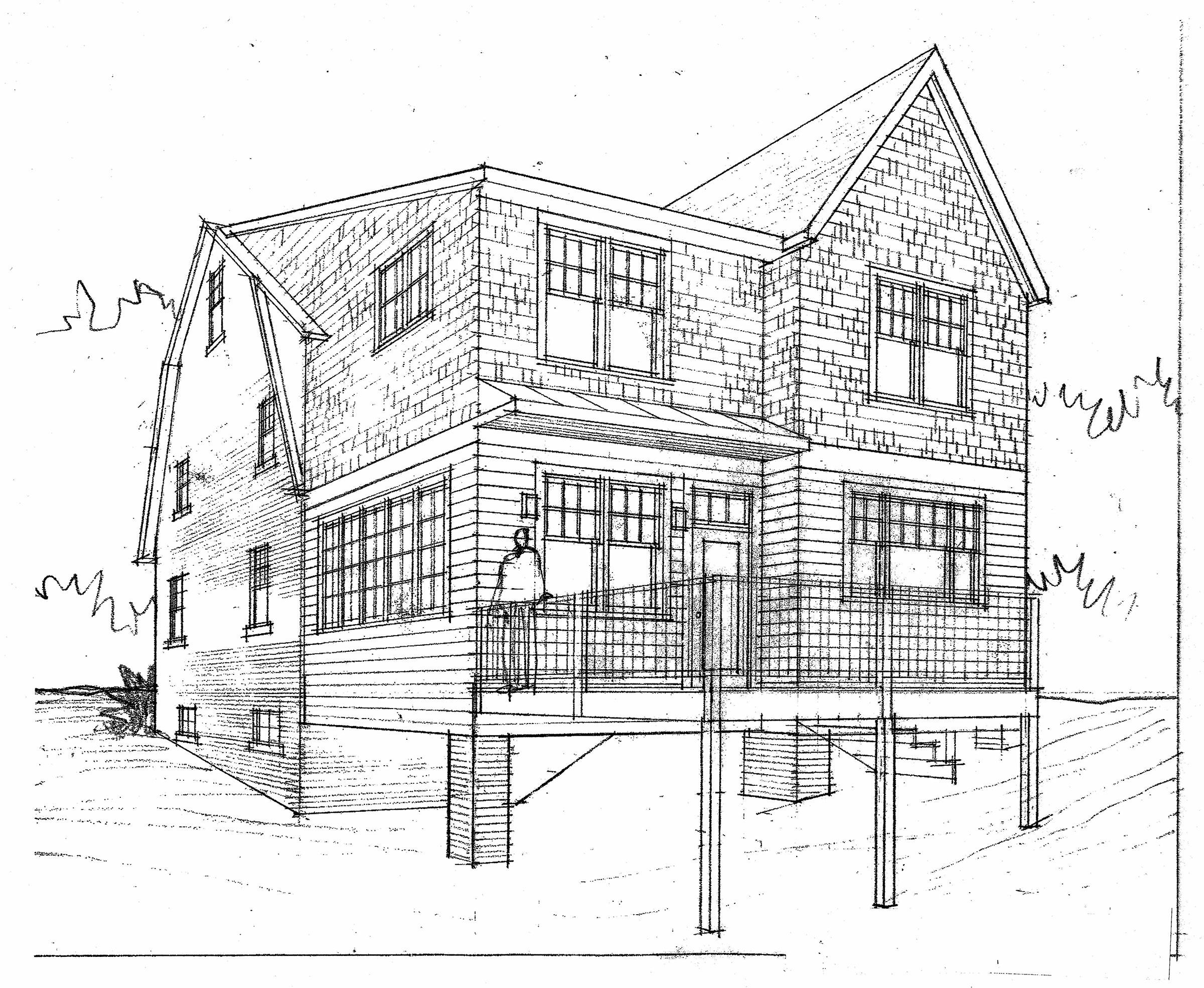1-Sketch-Exterior-Addition-Design
